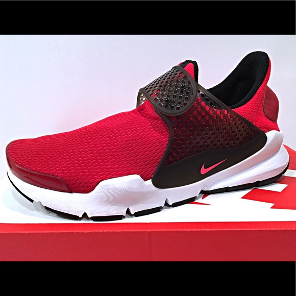 super popular 528e5 41895 Nike Sock Dart (GS) Gym Red Kids Sneakers NWT